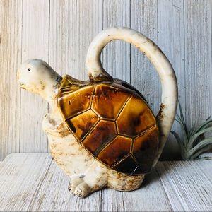 Vintage Accents - Ceramic Turtle Pitcher